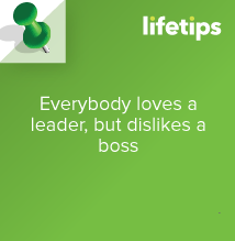 everybody loves a leader